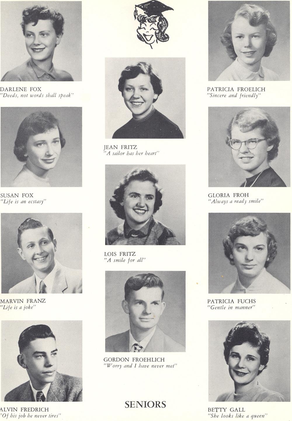 1953 Sheboygan Central High School Yearbook
