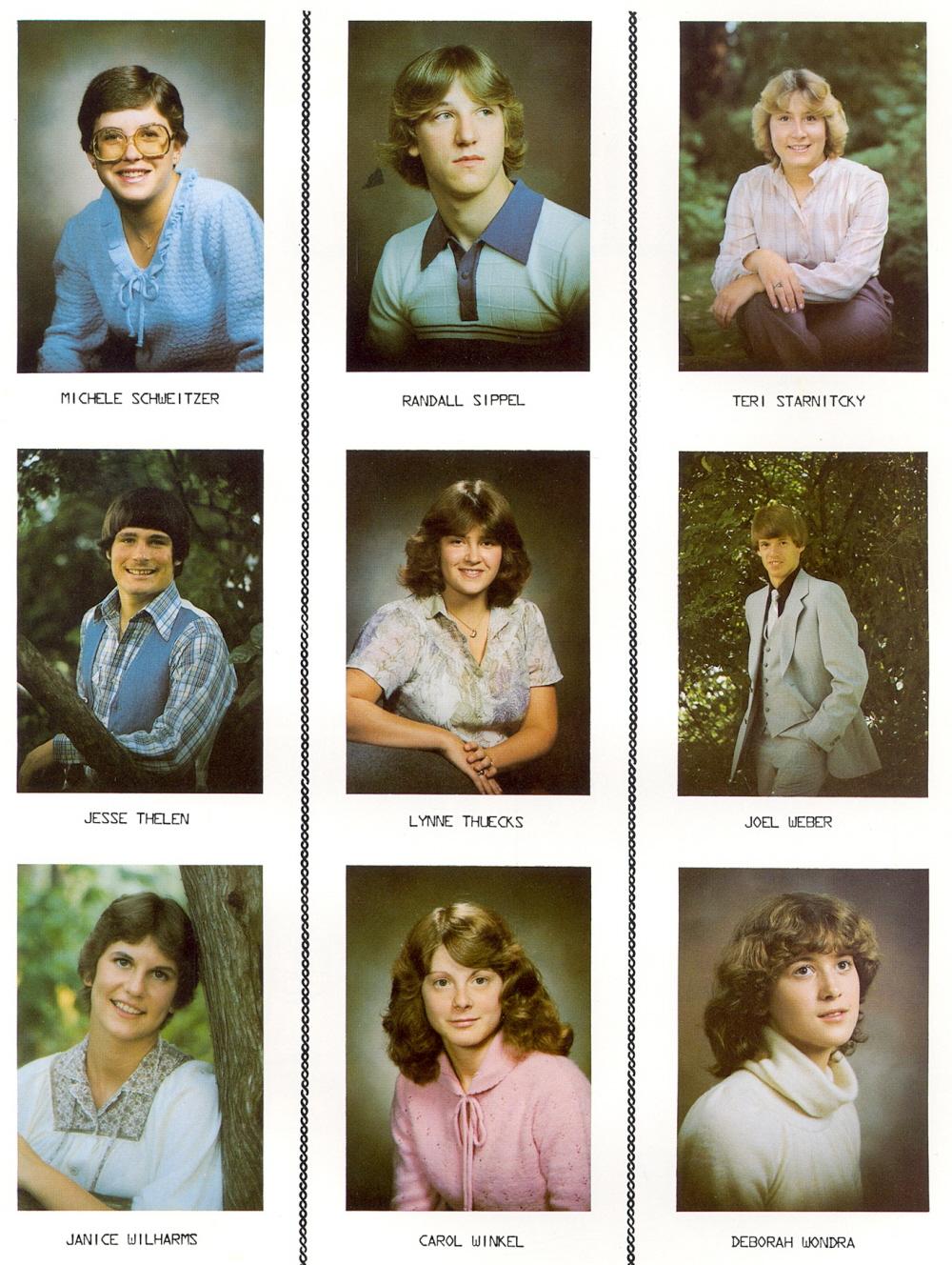Admirable 1980 Elkhart Lake High School Yearbook Short Hairstyles Gunalazisus