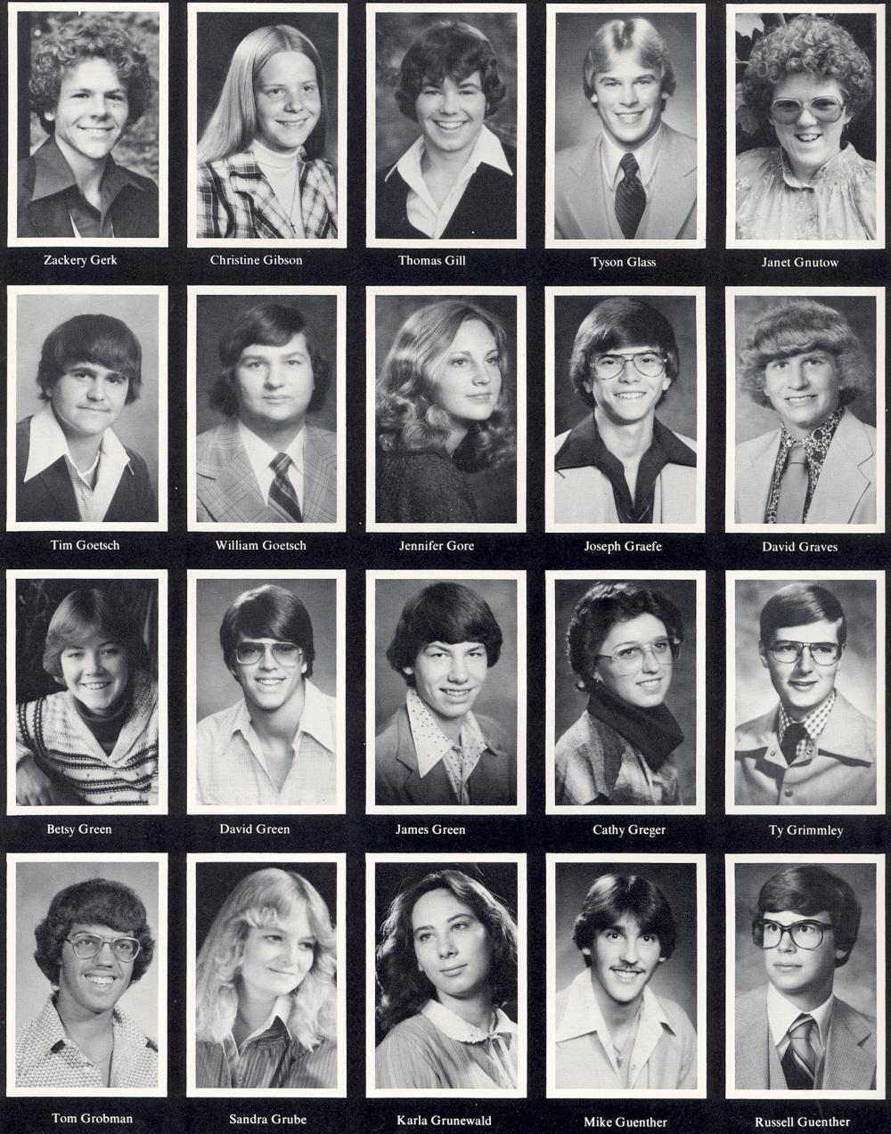 Cool 1980 Sheboygan North High School Yearbook Hairstyles For Men Maxibearus