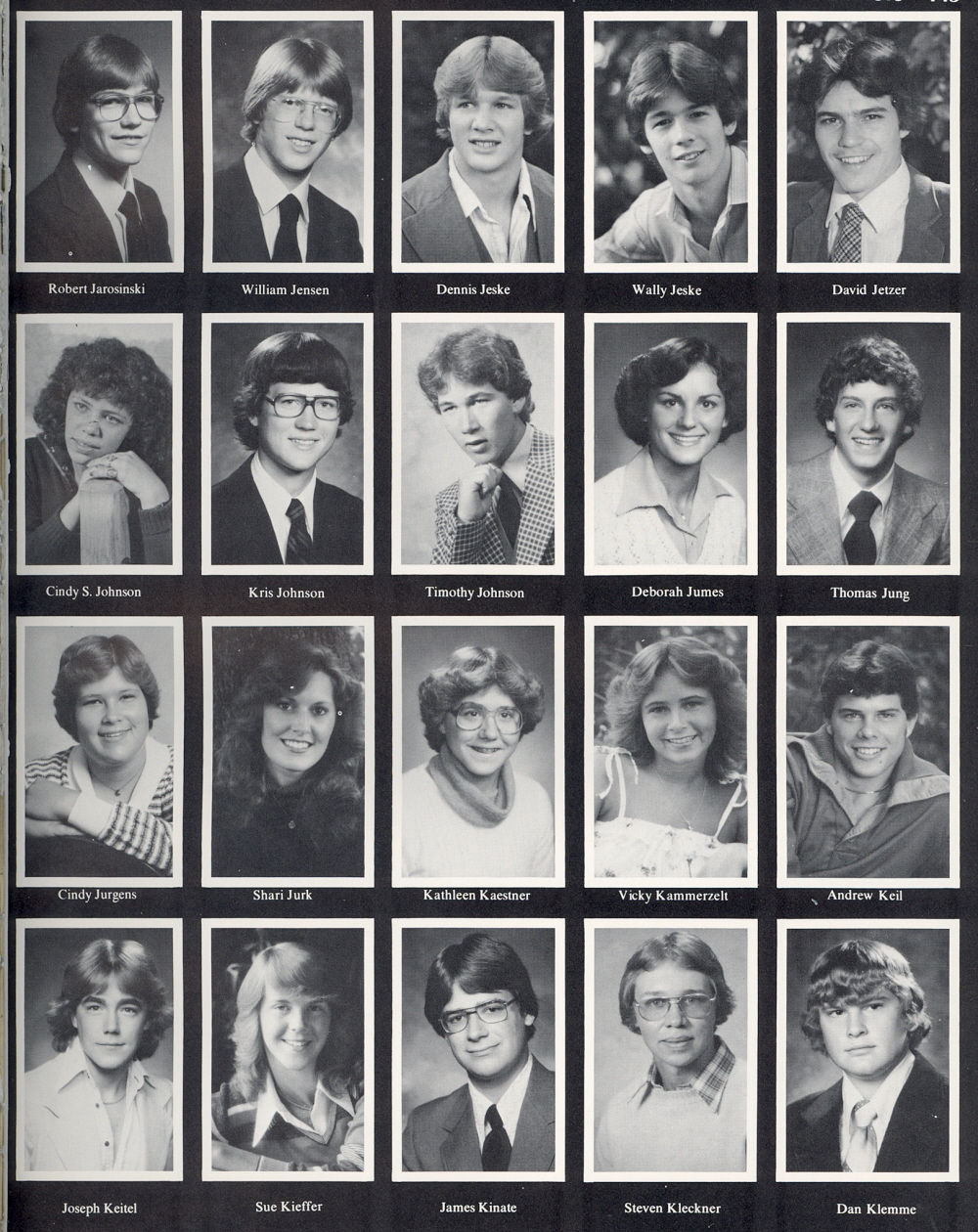 Astonishing 1980 Sheboygan North High School Yearbook Hairstyles For Men Maxibearus