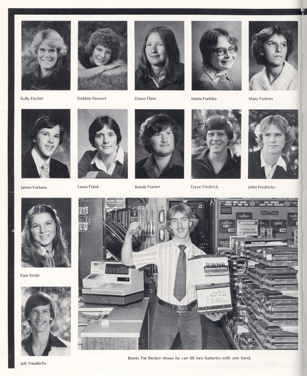 Marvelous 1980 Sheboygan South High School Yearbook Page 24 Hairstyles For Men Maxibearus