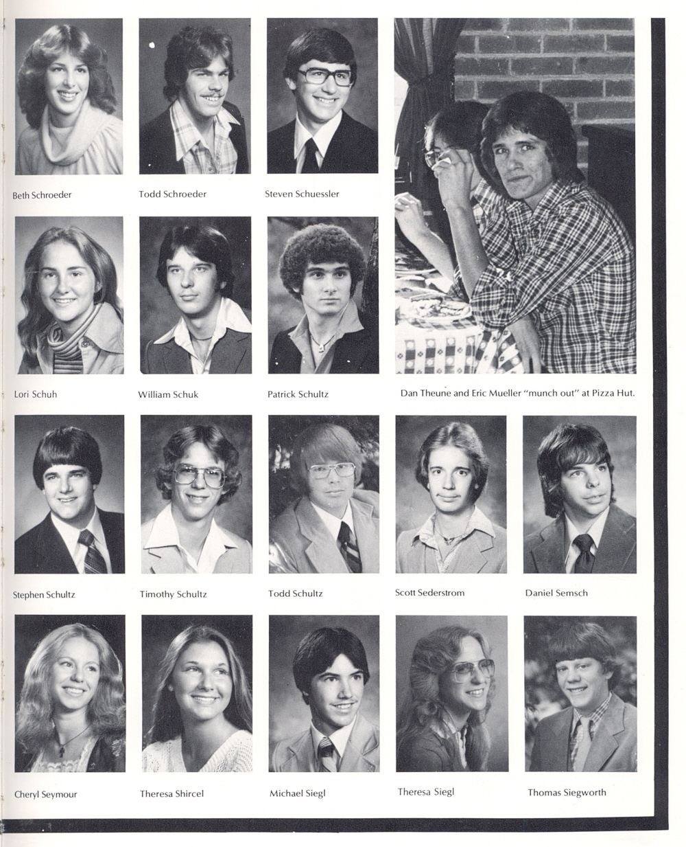 Brilliant 1980 Sheboygan South High School Yearbook Page 45 Hairstyles For Men Maxibearus
